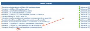 Exemple recherche salaire minimum conventionnel - Juri-Dico.fr2